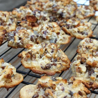 Date Walnut Macaroon Cookies