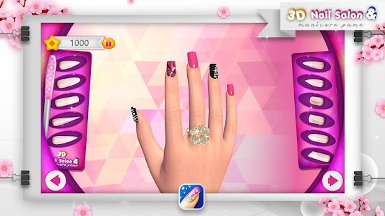 3D Nail Salon & Manicure Game- screenshot thumbnail