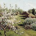 Landscape painting icon