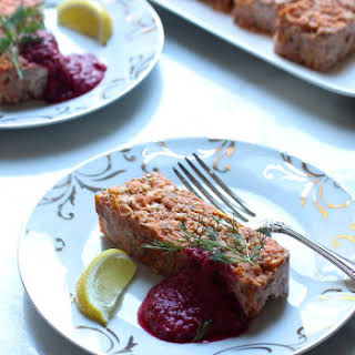 Salmon Terrine with Beet Horseradish - gluten free, dairy free, soy free, nut free, Paleo friendly.