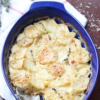 Two-Potato Scalloped Gratin