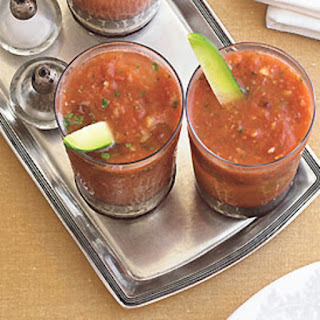 Gazpacho Bloody Marys.