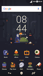 Trick or Treat Halloween ND Xperia Theme - náhled