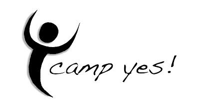 """Photo: """"Camp YES!"""" logo (v1)"""