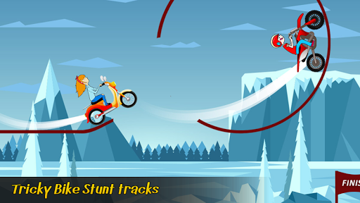 Tiny Bike Race - Bike Stunt Tricky Racing Rider 2 screenshots 4