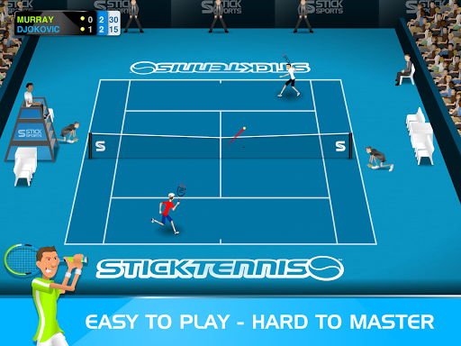 Stick Tennis  screenshots 6