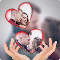 Love PIP maker: photo editor blur effect & selfie icon