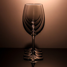 Straight Line  by Stefan Klein - Artistic Objects Glass ( reflection, colors, beautiful, glass, artistic objects )