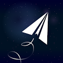 Paper Plane in Space PRO Endless Tapper Jumping 🌌 icon