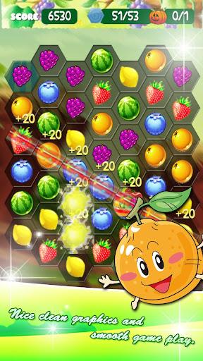 Fruit Hexagon  screenshots 1