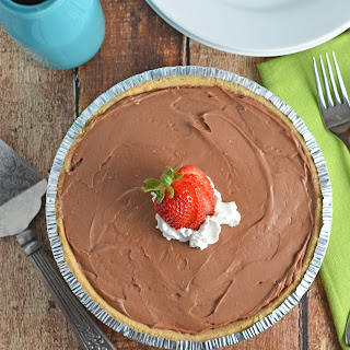 Creamy No-Bake Chocolate Cheesecake.