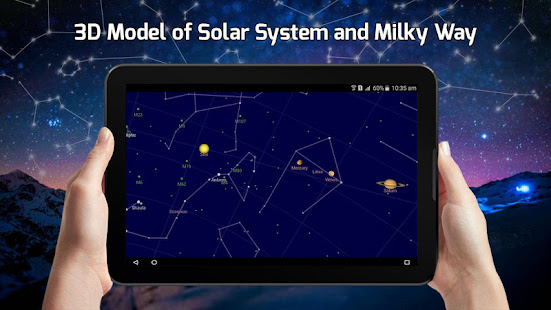 Sky Map View Solar System Star Tracker Real Time Apps On Google Play