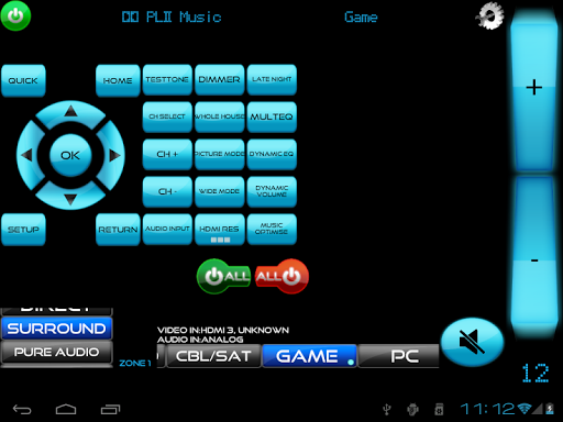 Remote for Panasonic TV+BD+AVR screenshot 2