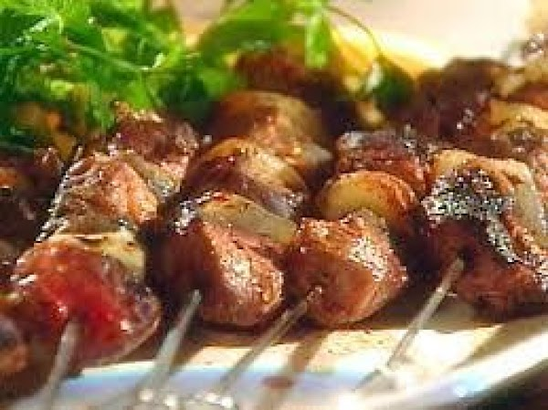 Gold Tequila & Chile Lamb Kebobs Recipe
