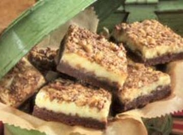 Toffee-topped Cheesecake Bars Recipe