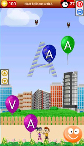 ud83cudf88Balloon Park - Learn English Alphabets & Numbers android2mod screenshots 5