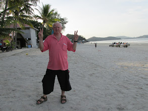 Photo: Poppa Gary at Pantai Cenang beach