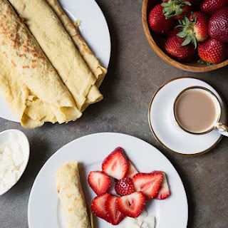 Coconut Crepes {Gluten Free & Dairy Free}.