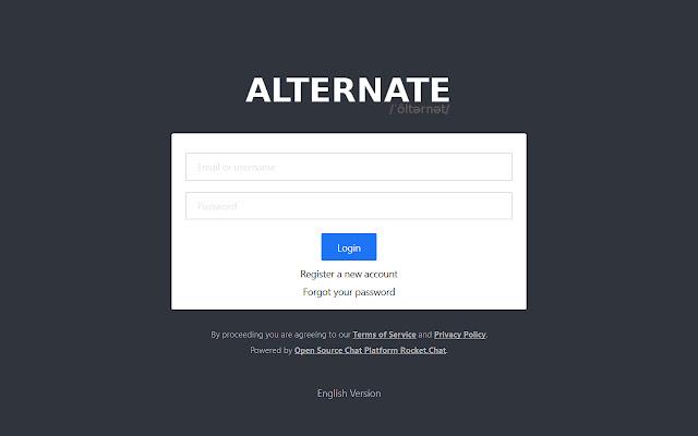 Alternatemeet.com - Jitsi Desktop Streamer