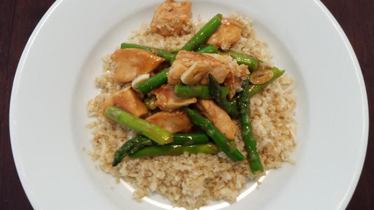 Lemon Chicken & Asparagus Quinoa Bowl Recipe
