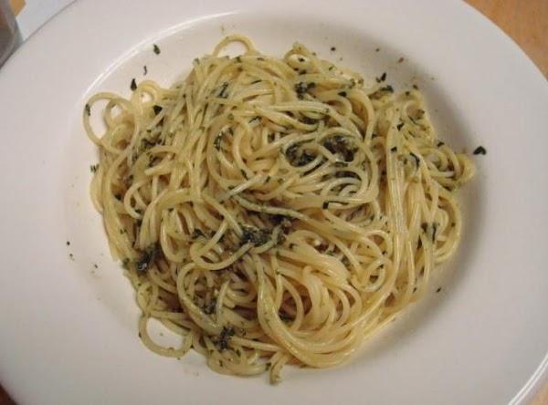 Basil And Toasted Almond Pesto Recipe