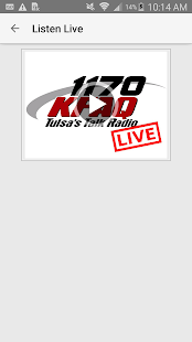 Talk Radio 1170 KFAQ- screenshot thumbnail