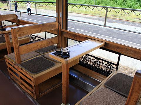 JR北海道 観光列車「風っこそうや」 音威子府にて_11 2号車 テーブル