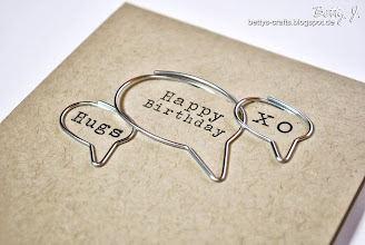 Photo: http://bettys-crafts.blogspot.de/2013/10/happy-birthday-hugs-xo.html
