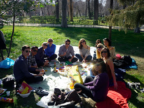 Photo: The time we had a picnic for my birthday on a gorgeous day with friends and food.