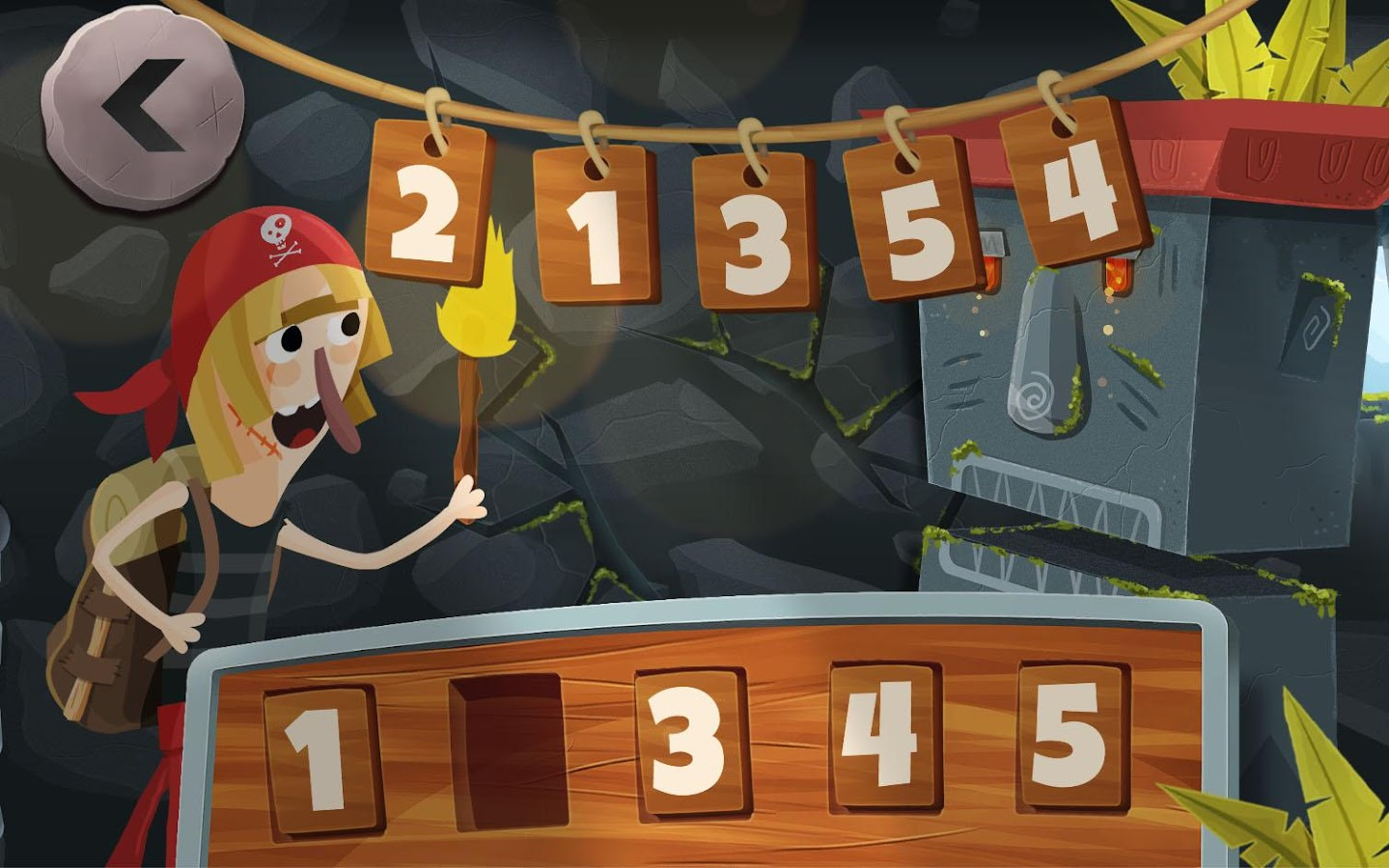 Dungeon of Numbers 1- screenshot