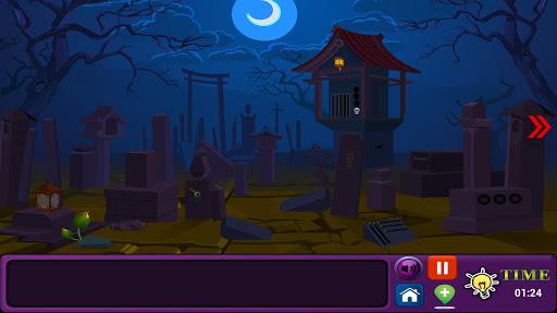 解謎必備免費app推薦|墓地の夜:エスケープ線上免付費app下載|3C達人阿輝的APP