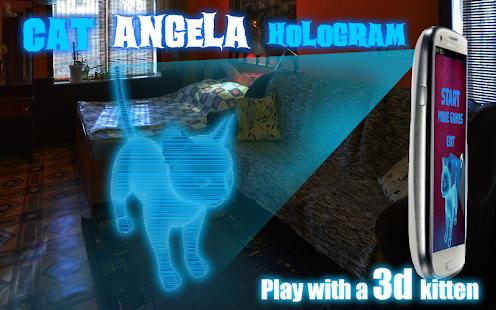 Cat-Angela-Hologram-3D-Kids 15