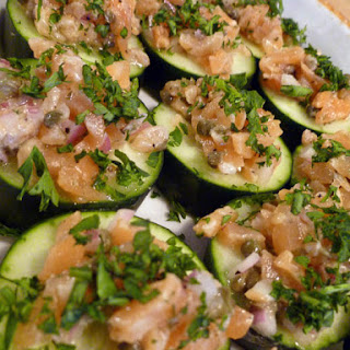 Cucumber Smoked Salmon Appetizer Recipes