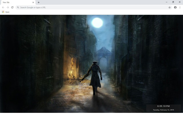 Bloodborne New Tab & Wallpapers Collection