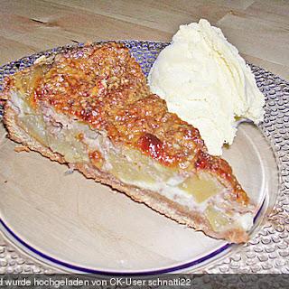 Apfel - Walnuss - Tarte