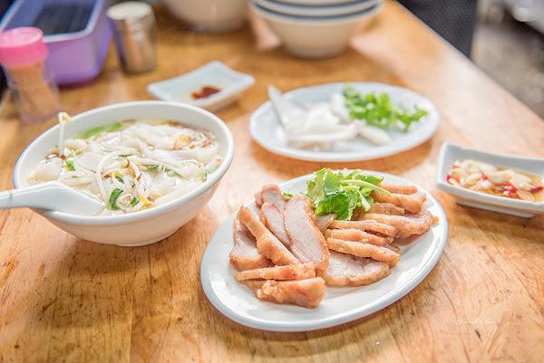 台北人氣老店:阿角紅燒肉,六種部位炸紅燒肉與豐盛什錦麵/老台北早午餐美食