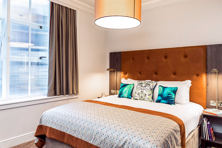 Luxury bedroom at Native Glasgow