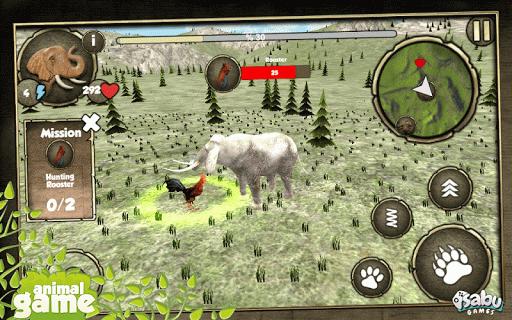 Wild Elephant Simulation