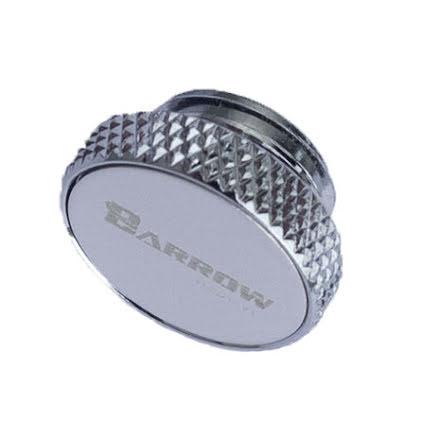 Barrow blindplugg, 1/4BSP, Silver/Silver
