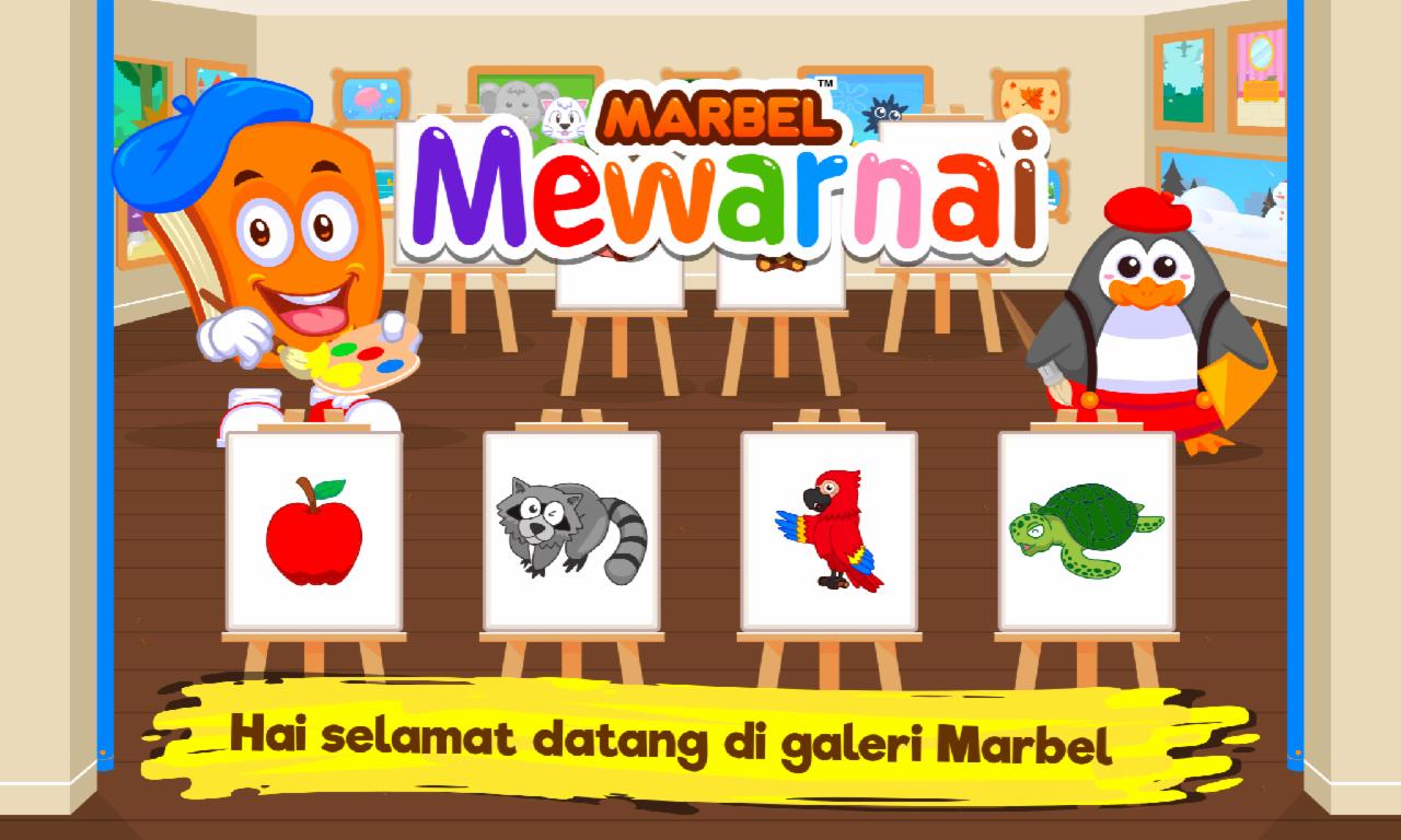 Marbel Buku Mewarnai Anak Anak Apl Android Di Google Play