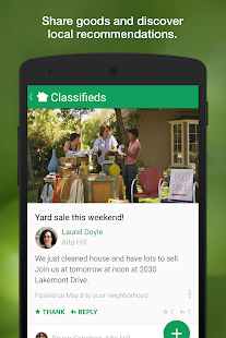 Nextdoor- screenshot thumbnail