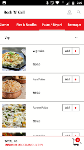 Rock n Grill Order Online- screenshot thumbnail