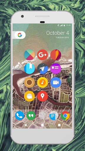 Pixel Icon Pack - Nougat UI Apps for Android screenshot