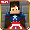 Captain Mod America Addon MC Pocket Edition icon