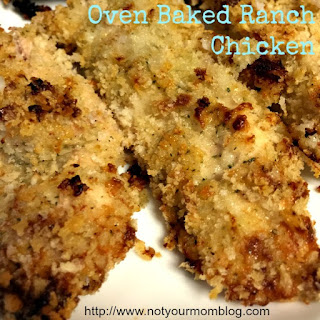 Oven Baked Ranch Chicken