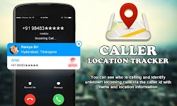screenshot of Mobile Caller ID Location Tracker
