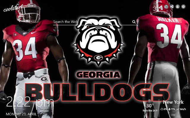 Georgia Bulldogs HD Wallpapers NFL Theme