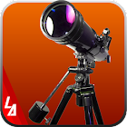 fotocamera super telescopio icon