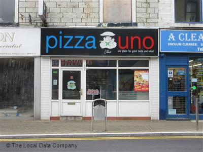 Pizza Uno On Scotland Road Pizza Takeaway In Nelson Bb9