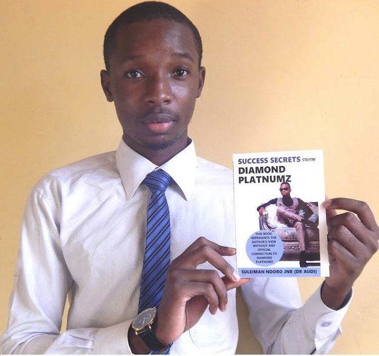 Kenyan publishes book on Diamond Platnumz